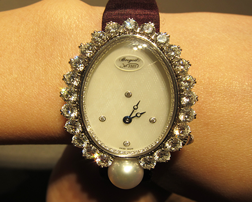 High Jewellery Imperial Pearl watch, BREGUET