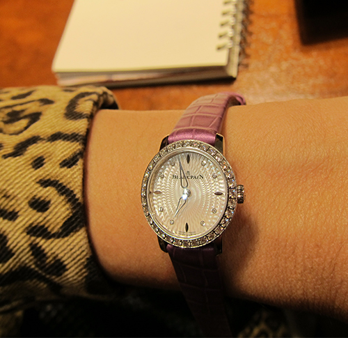 Blancpain's Ladybird 60th Anniversary Ultraplate watch