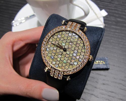 Premier Precious Weaving Automatic timepiece, HARRY WINSTON