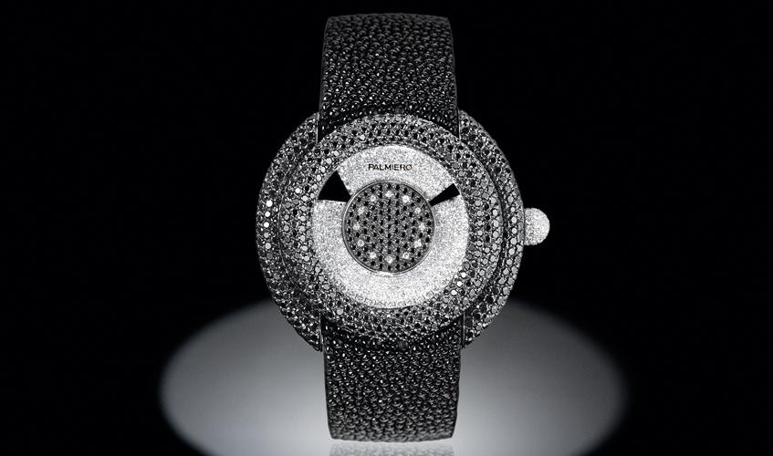 Oblo' jewellery timepiece, PALMIERO