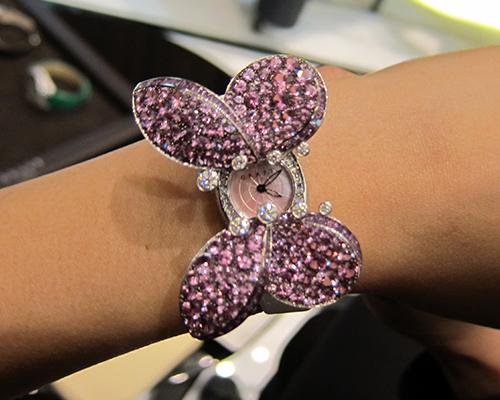 Princess Butterfly timepiece, GRAFF