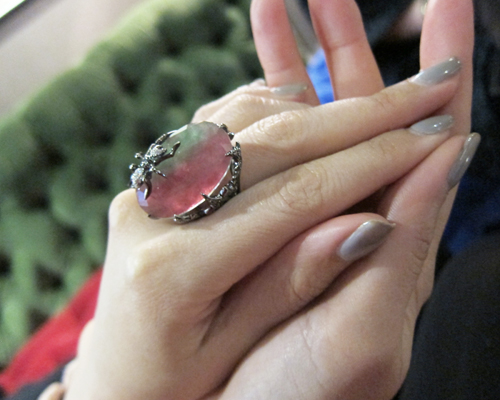 Unique cocktail ring by ROBERTO COIN
