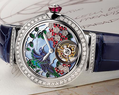 Lycea Giardino Paridiso watch, BULGARI