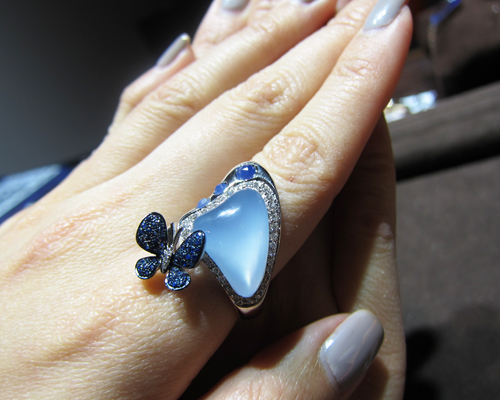 Madame Butterfly ring, MORAGLIONE