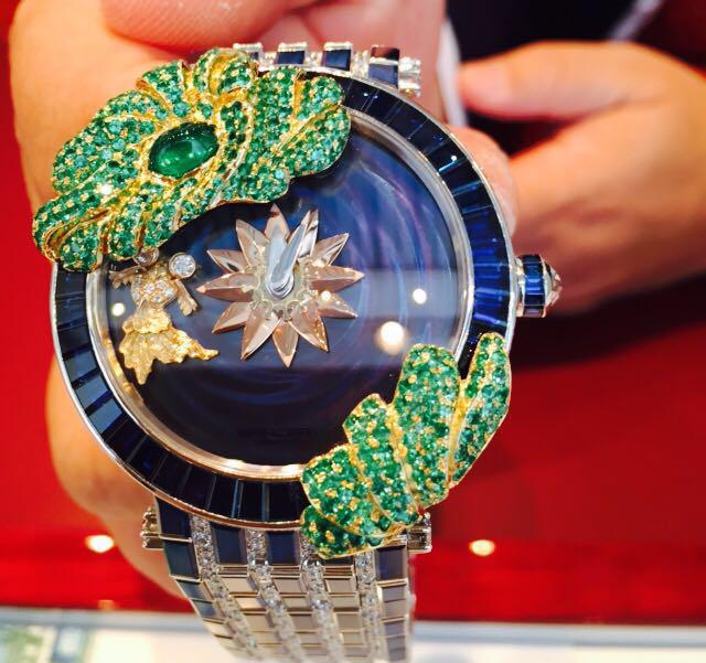 The Gold Fish timepiece, SARCAR