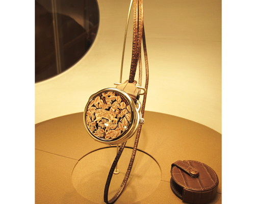 The Arceau Pocket La Promenade De Platon one of a kind timepiece, HERMÈS