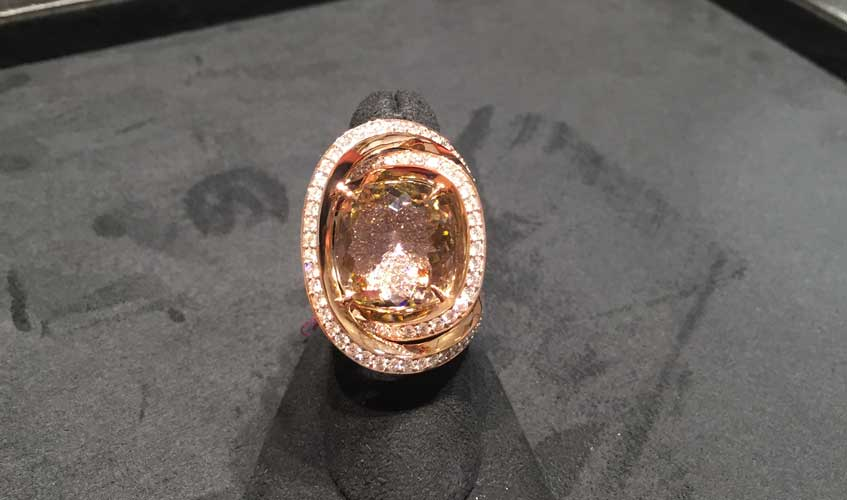 19.75ct colour change tourmaline ring from the Valentina collection, PAOLO COSTAGLI