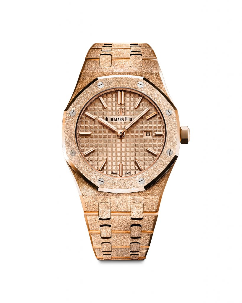 Audemars-piguet-rose-gold-royal-oak-quartz-model