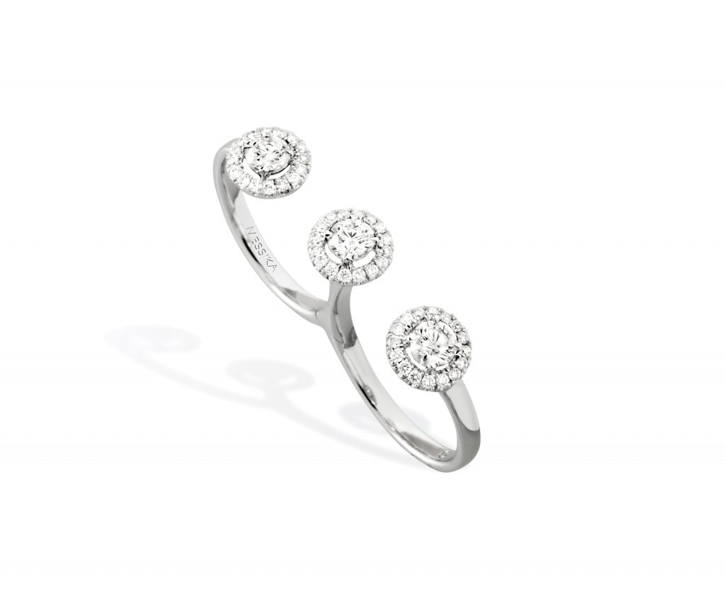 MESSIKA-Bague-Trio-Joy-5482B- double-finger-ring