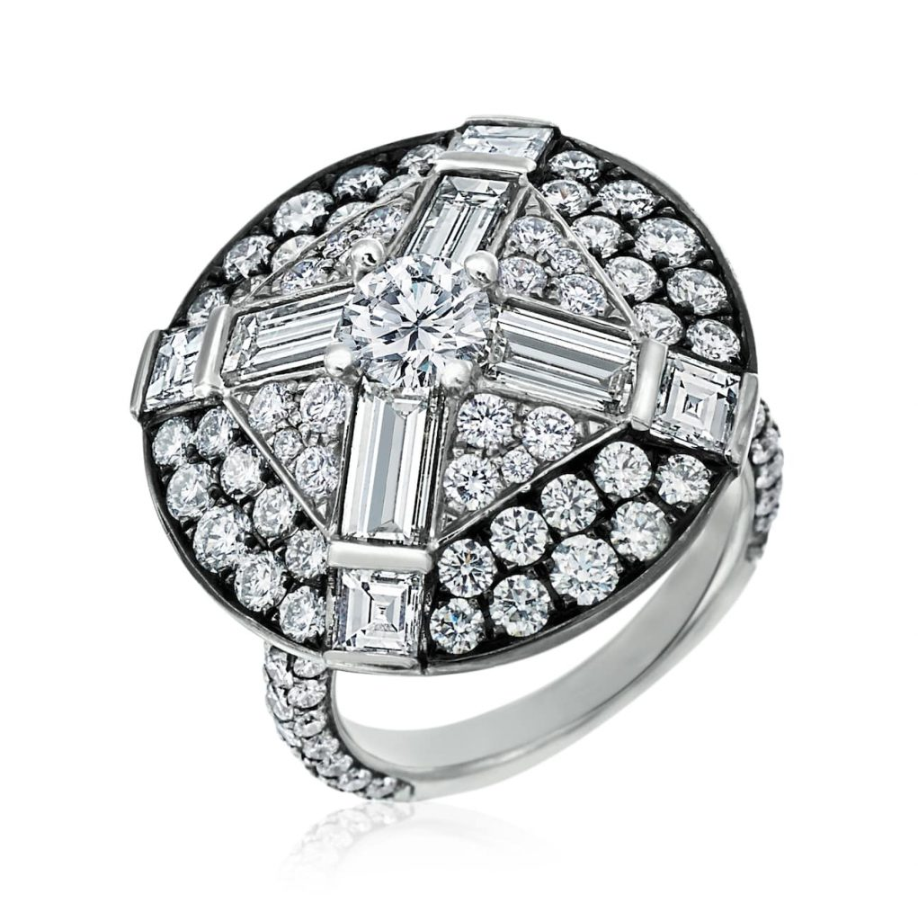 Art Deco Medallion-engagement-ring-MARIA-CANALE
