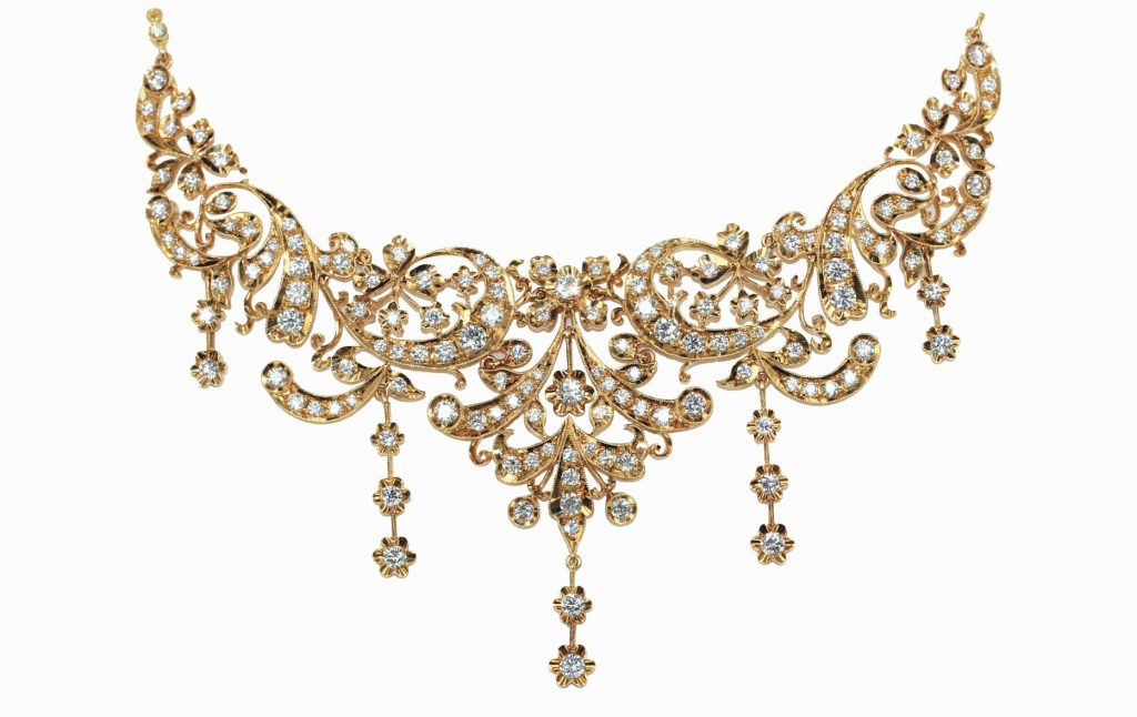 Peranakan-18k-gold-necklace-si-dian-jin-bridal-jewellery