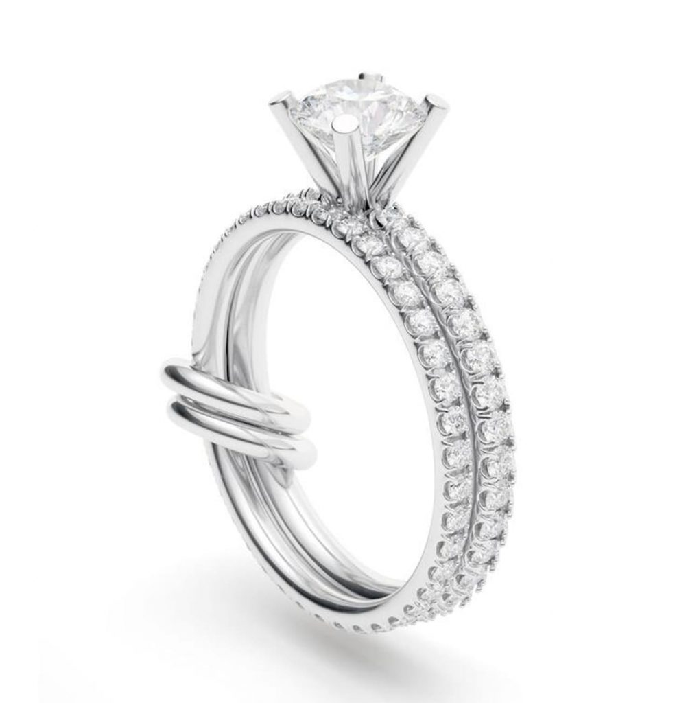 Spinelli-kilcollin-link-diamond-engagement-ring