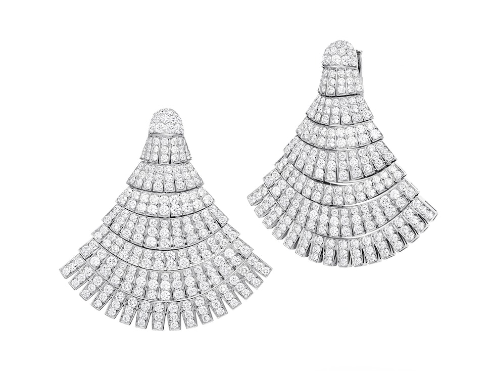 ventaglio-diamond-earrings-de-grisogono