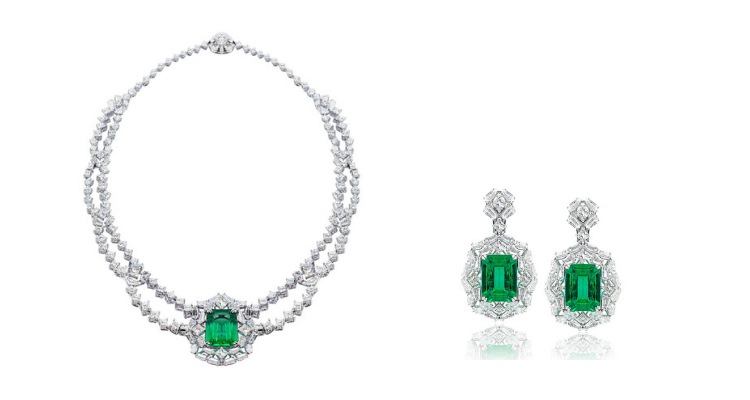 Kahn High Jewellery emerald collection