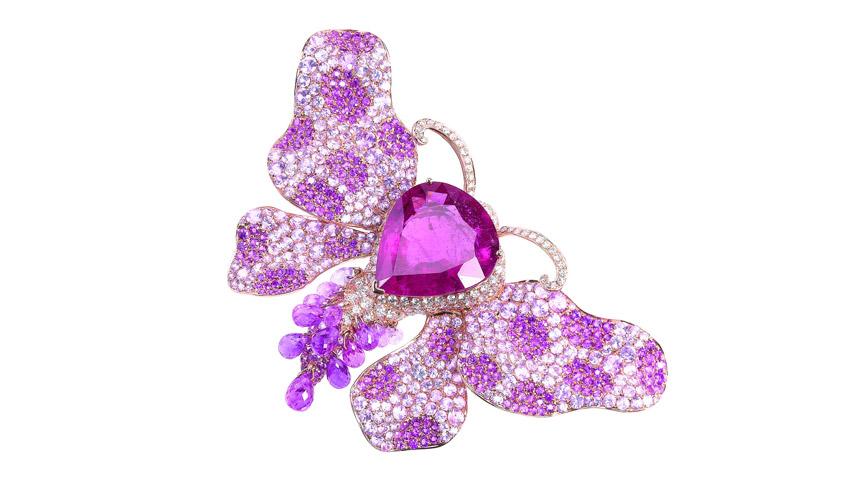 Butterfly brooch, GOLDIAQ CREATION LTD