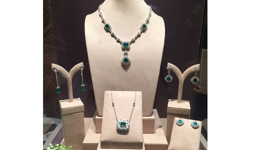 Green with envy, The Jewel Box presents their Emerald collection