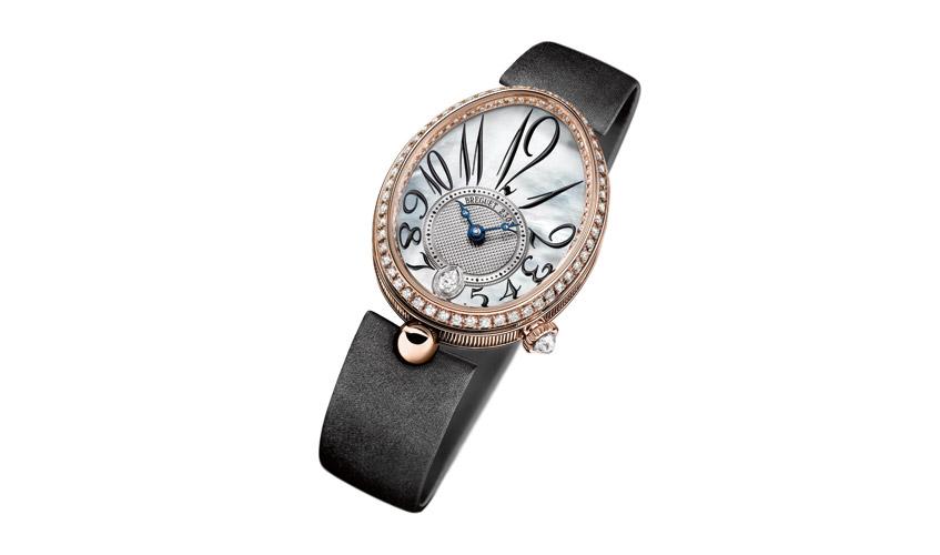 All-time classic Reine de Naples 8918 timepiece, BREGUET