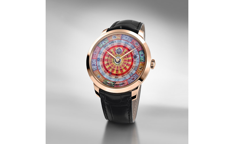 Timepiece from the latest Chamber of Wonders collection, GIRARD-PERREGAUX