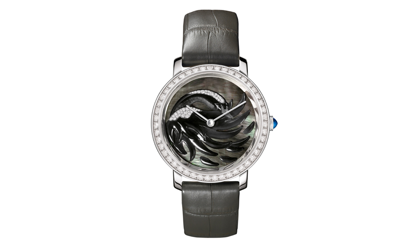 Cypris Epure d'Art in black mother of pearl