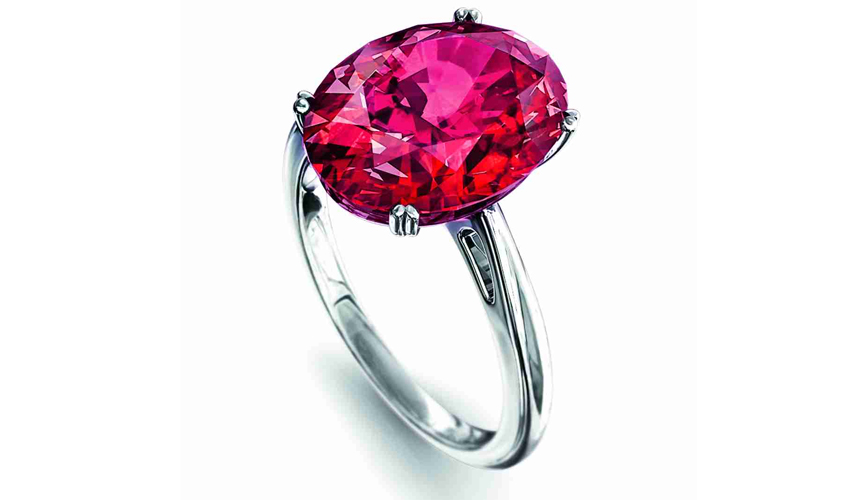 Pigeon's Blood ruby ring, GÜBELIN