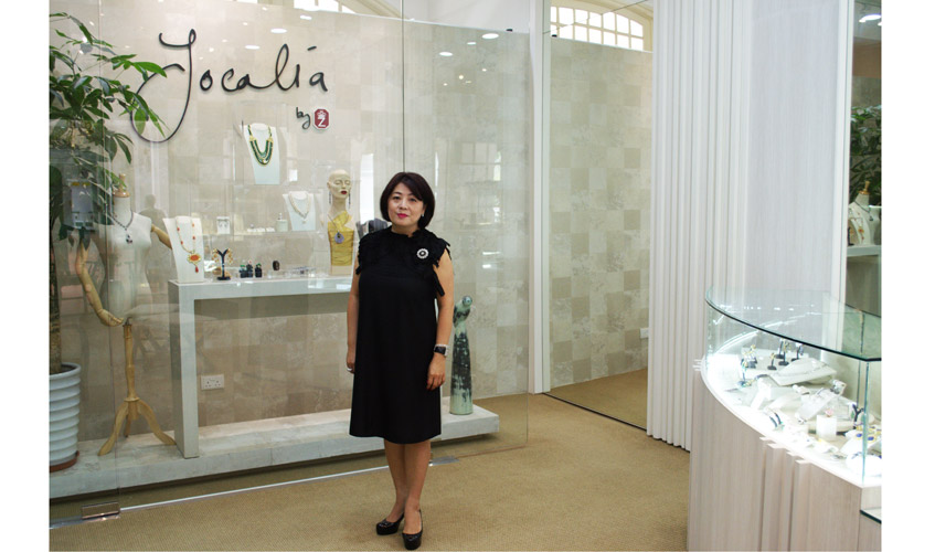 Esther Ho in her boutique, Jocalia by Zenith Affair