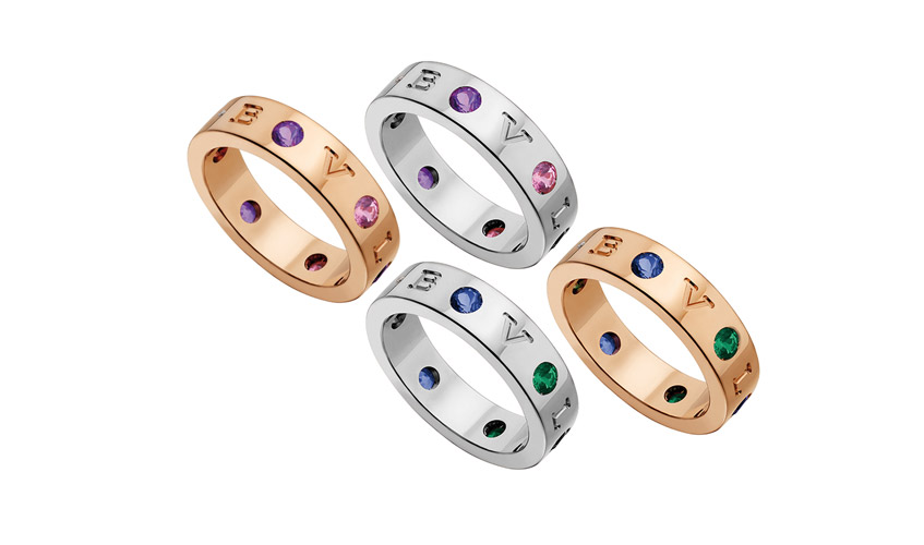 Bvlgari-Bvlgari Roman Sorbets collection bands